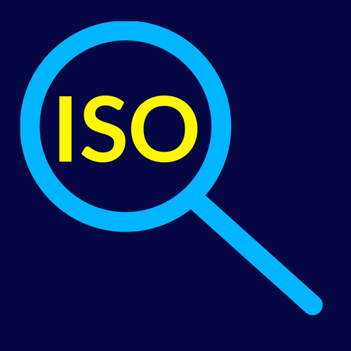 what does iso mean graphic