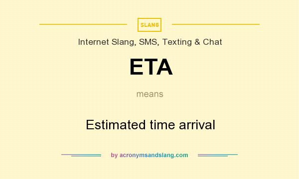 what does eta mean