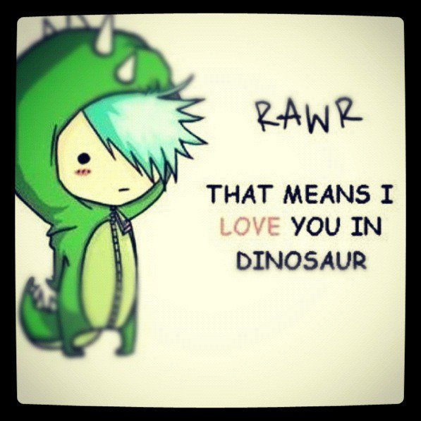 what does rawr mean