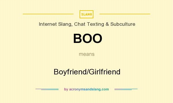 what does boo mean
