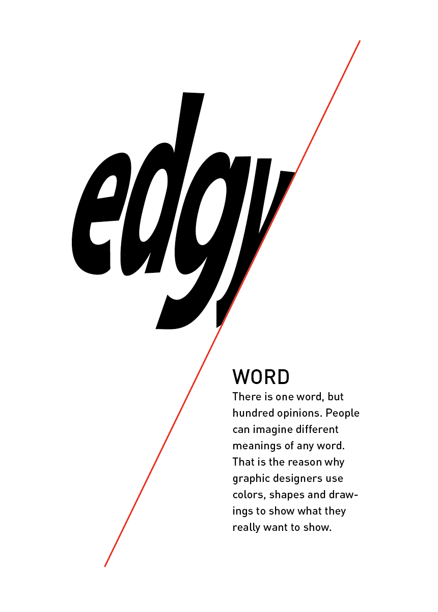 what does edgy mean