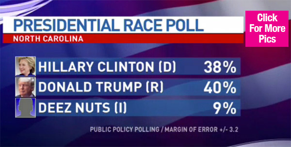 deez nuts for president