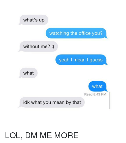 what does dm mean