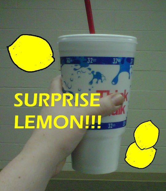 lemon party prank