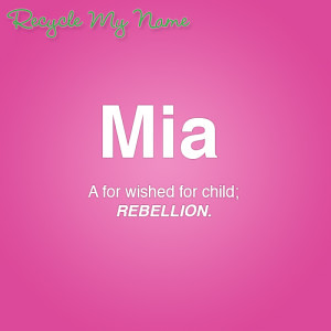 what does mia mean