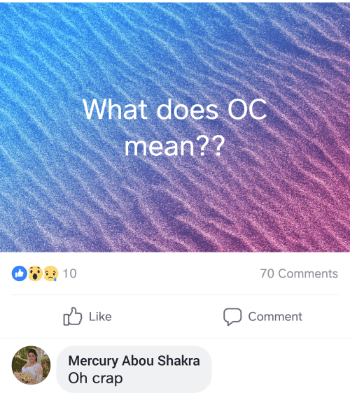 what does oc mean
