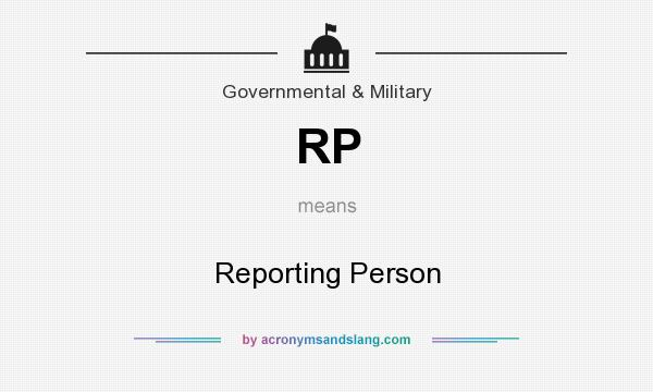 what does rp mean