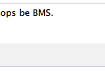 what does bms mean