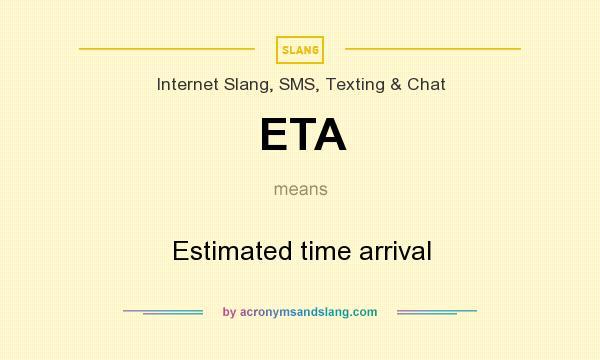 what does eta mean