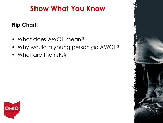 what does awol mean