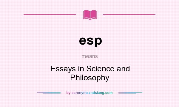 what does esp mean