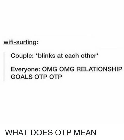what does otp mean