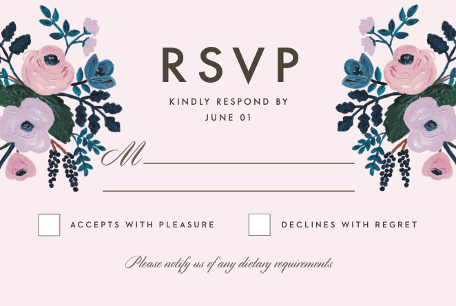what does rsvp mean